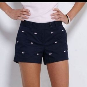 Vineyard Vines Navy With Pink Whales Size 4